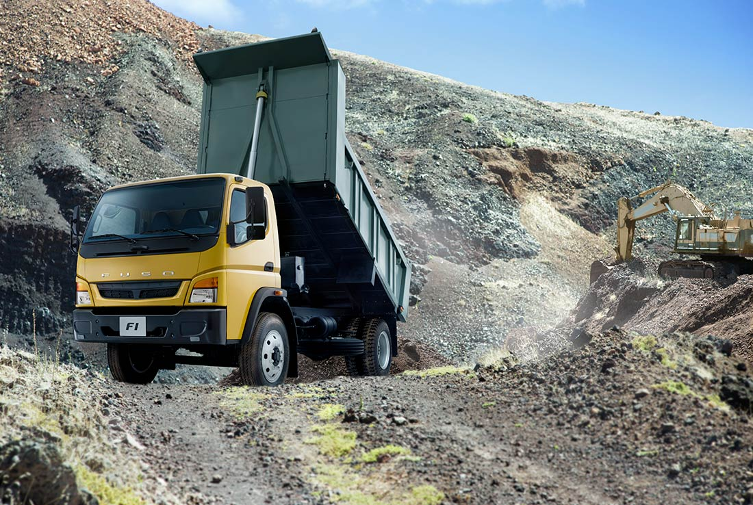 camiones fuso fi