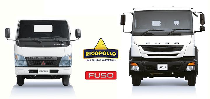 Perumotor entrega nueva flota de camiones FUSO a la empresa Rico Pollo