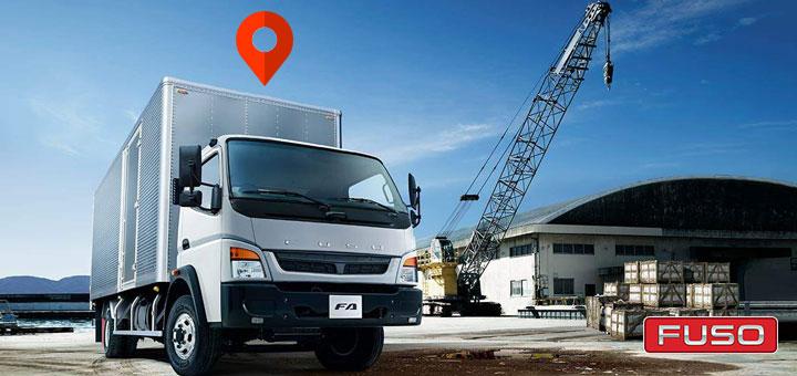 Sistema de rastreo GPS para las flotas de camiones