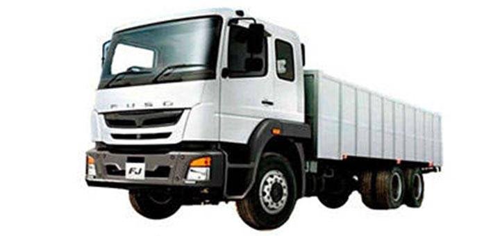 El camión FJ es el mejor para la empresa transportista