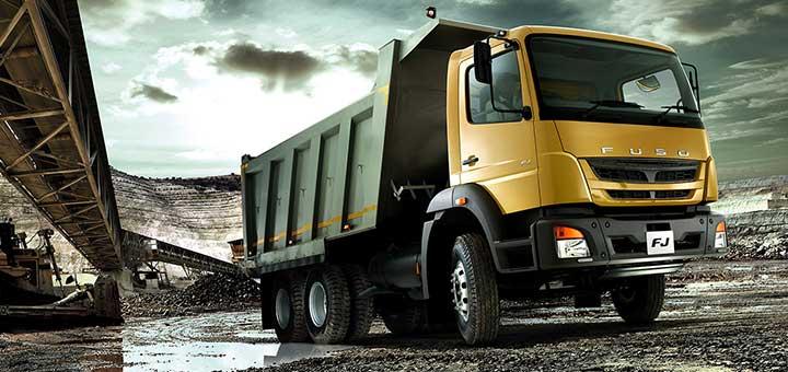 El camión FUSO FJ es la mejor opción para las empresas que quieren iniciar en el transporte de carga