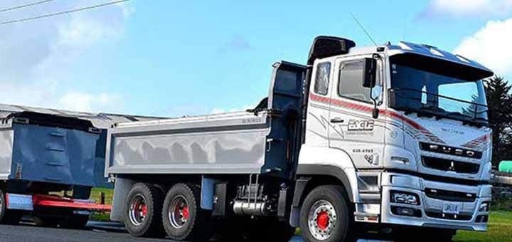 El camión FJ de FUSO es perfecto para transportar una amplia variedad de productos