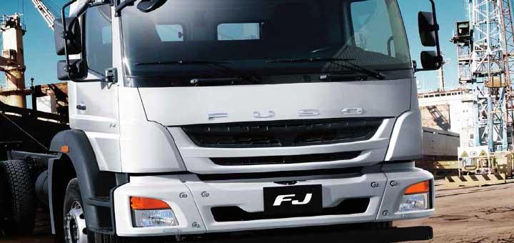 El camión FJ de FUSO es versátil