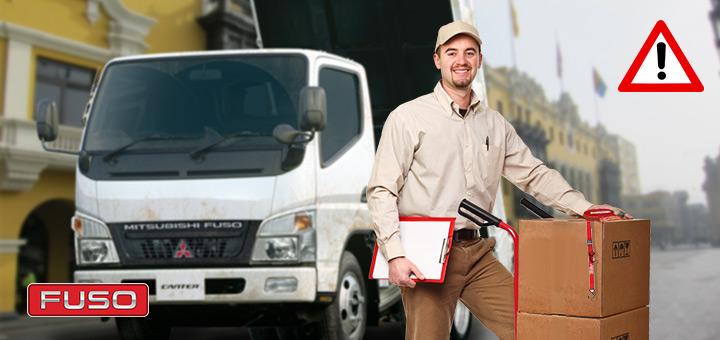 Correcto estibaje para camiones de carga. Consejos para evitar lesiones