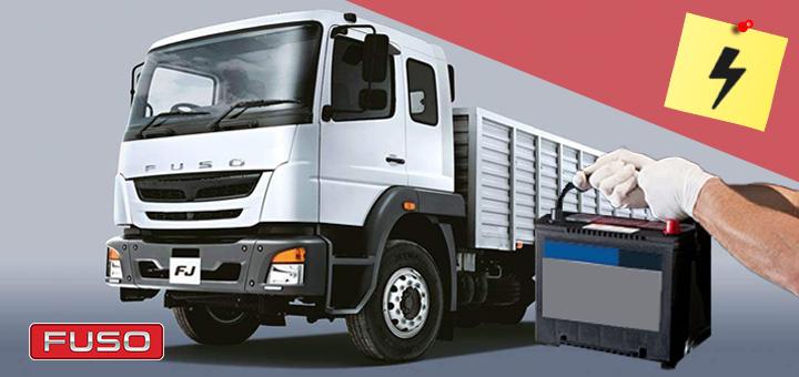 Mantenimiento de baterías de camiones pesados