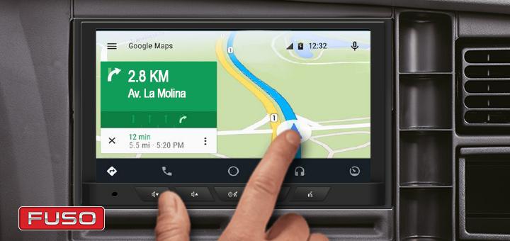 Display Audio, el nuevo sistema de los camiones Canter
