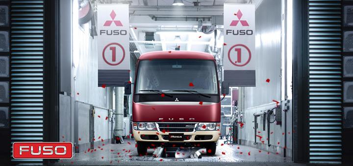 Fuso lidera la venta de camiones durante los primeros meses del 2018