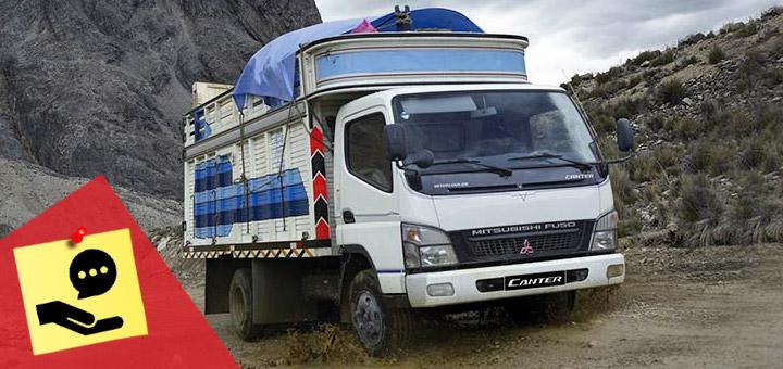 4 consejos para conducir un camión de 5 toneladas en el Perú