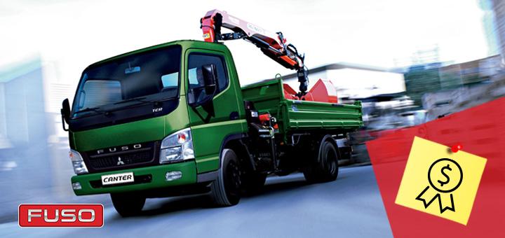 Los mejores camiones y buses Fuso en relación calidad-precio
