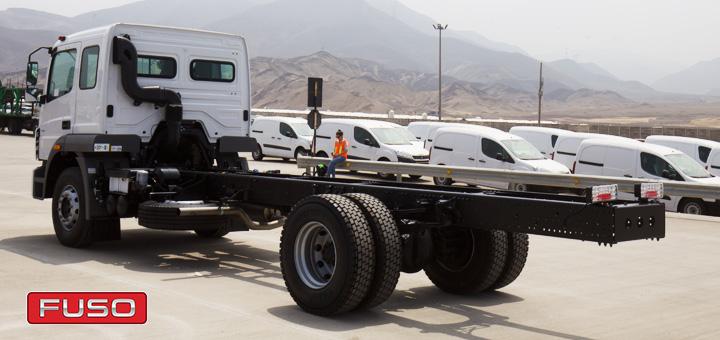 detalles acerca de chasis camion