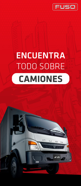 banner fuso camiones 2020