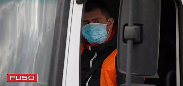 Recomendaciones de salud durante la cuarentena para los conductores de camiones