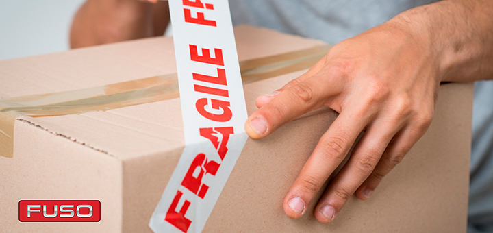 Cómo transportar mercancías frágiles con un camión de carga