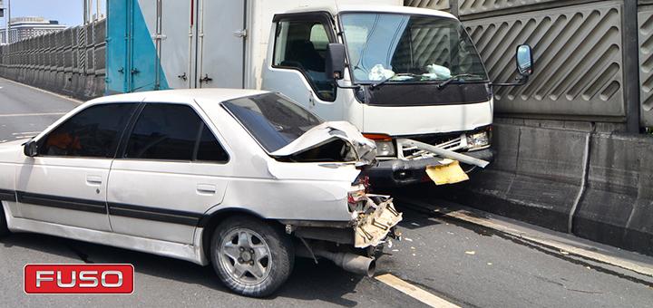 ¿Qué deberías hacer si sufres un choque con tu camión?