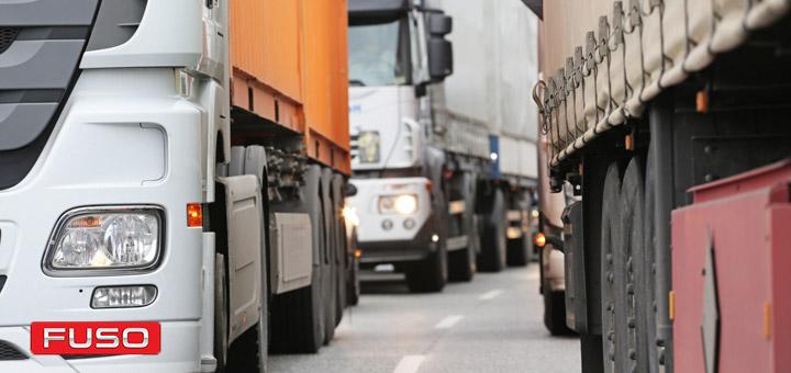 camiones tráfico