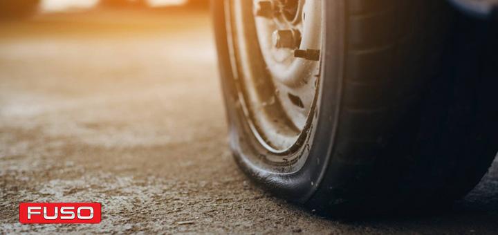 Neumáticos reventados
